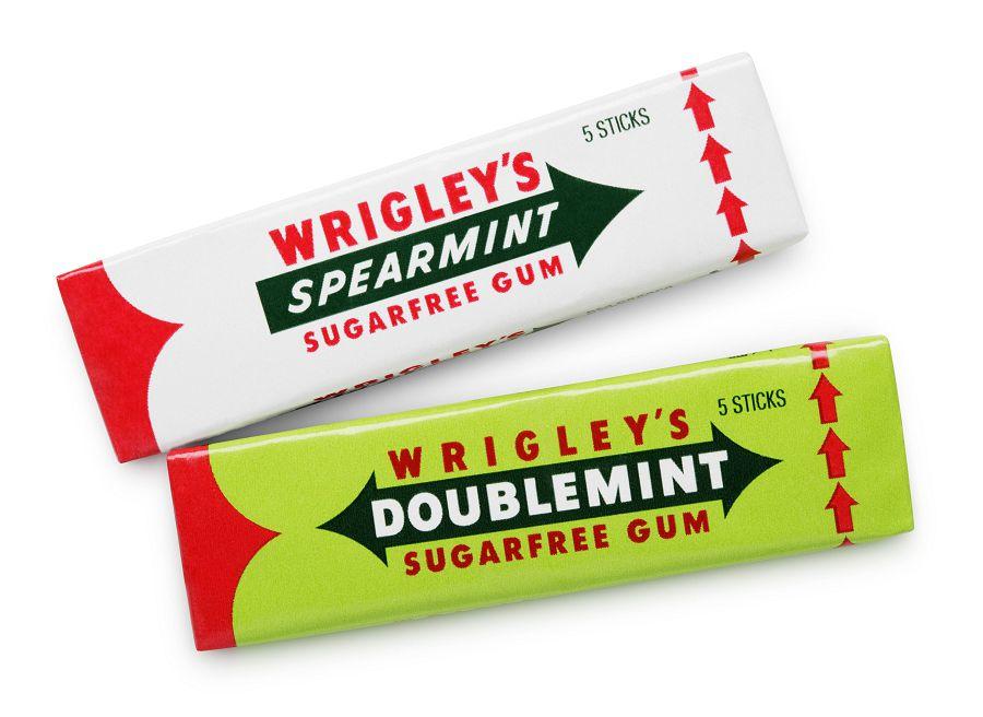 Wrigley's Spearmint и Doublemint