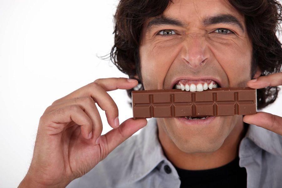 есть шоколад