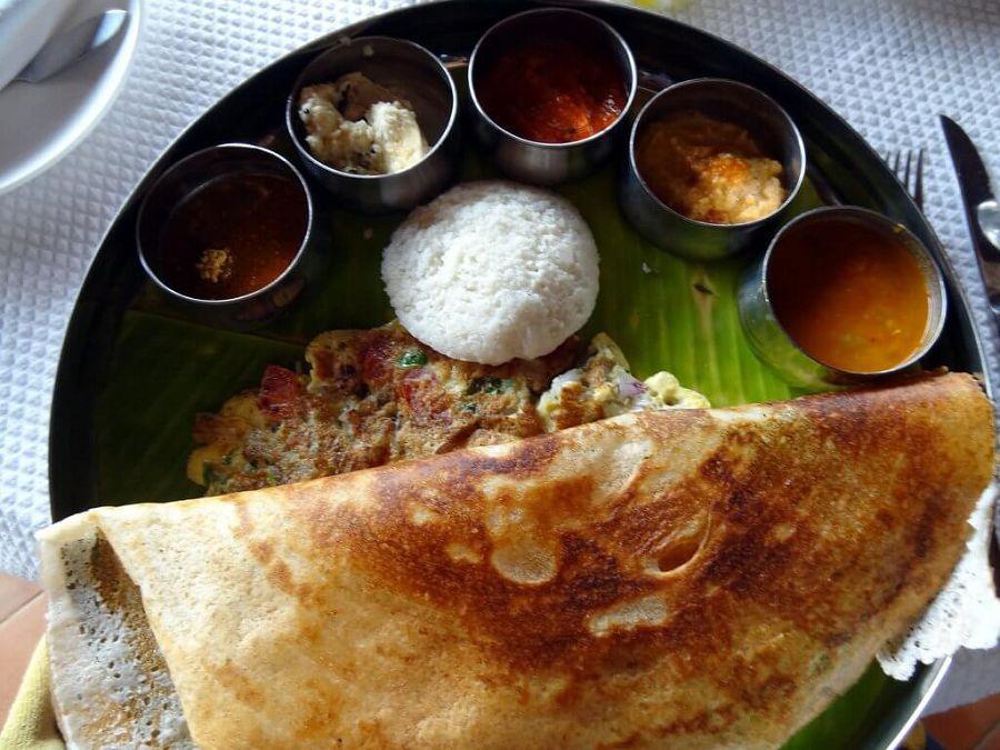 завтрак в индии