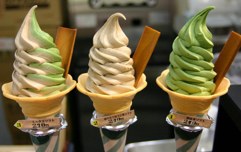 странное мороженое