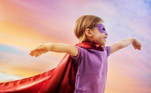 девочка супергерой