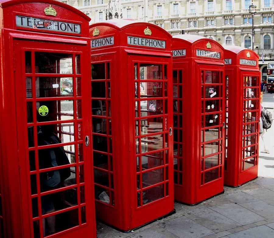 телефонные кабинки