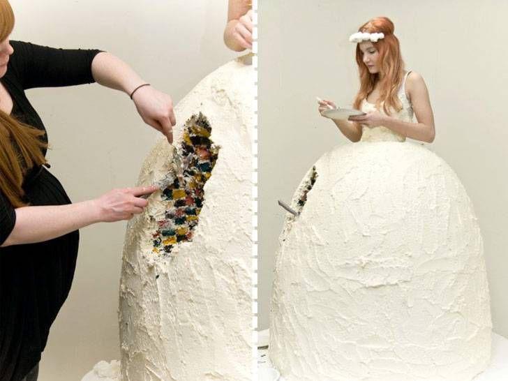 Платье—торт