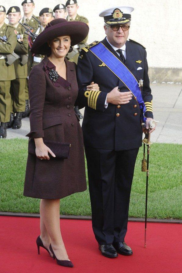 Принцесса Клэр, Бельгия