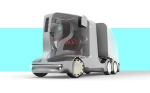 Беспилотный грузовик будущего