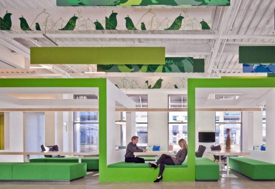 Креативные офисные перегородки