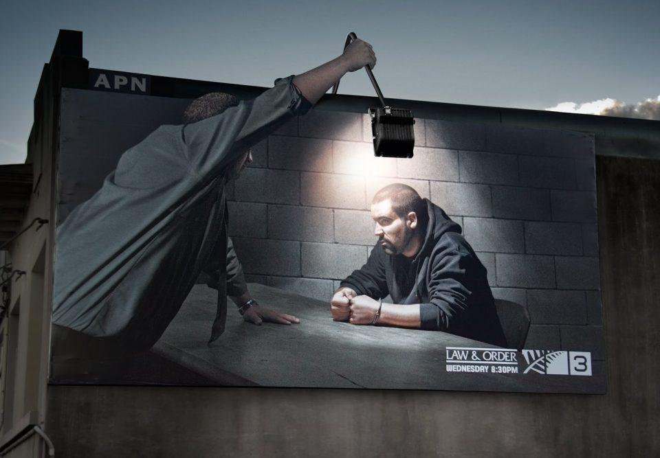 реклама фильма закон и порядок