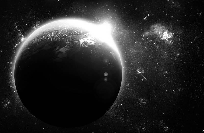 серая планета