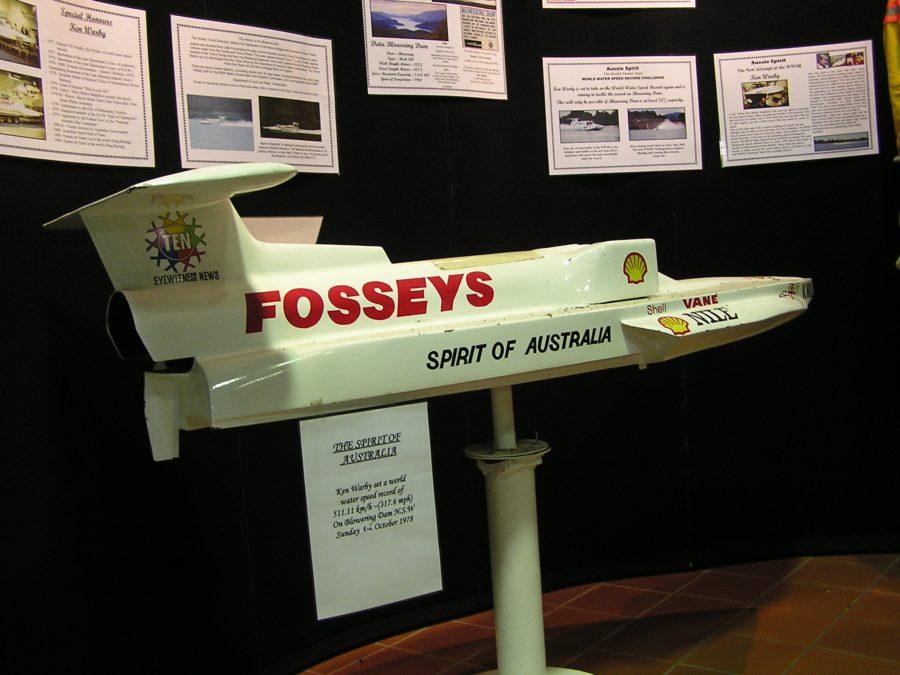 Катер Spirit of Australia