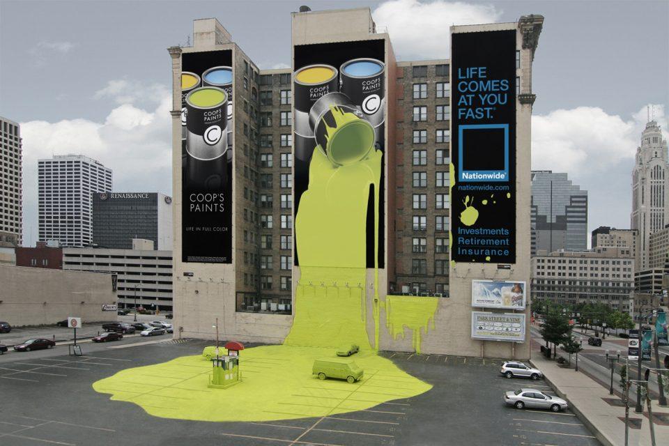 реклама краски