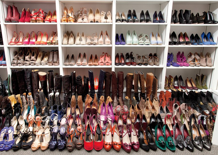 разнообразие обуви
