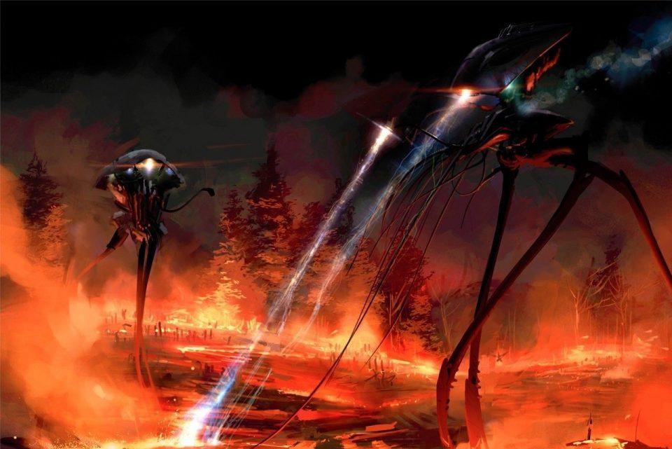 война миров, машина пришельцев