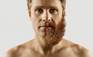 недобритая борода