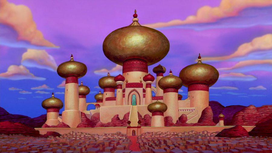 Аграба, замок султана