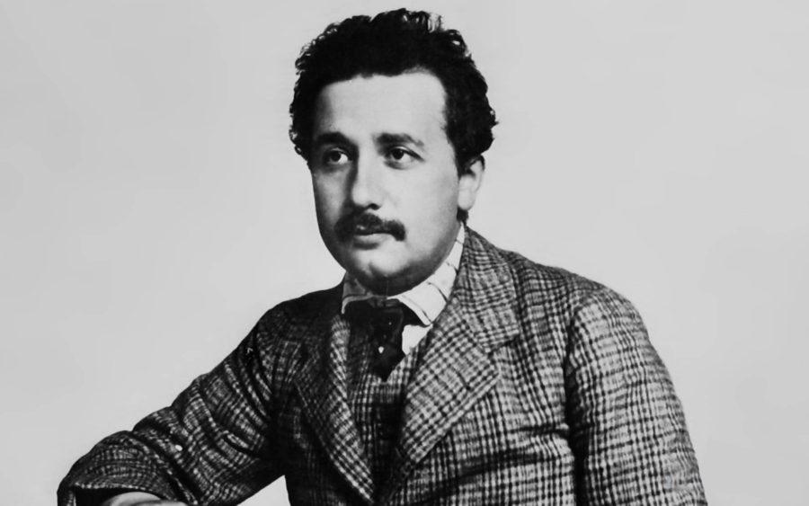 Альберт Эйнштейн в молодости