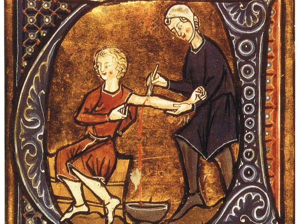 кровопускание в старину