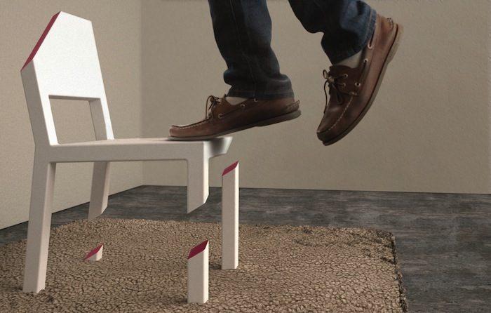 Надрезанный стул