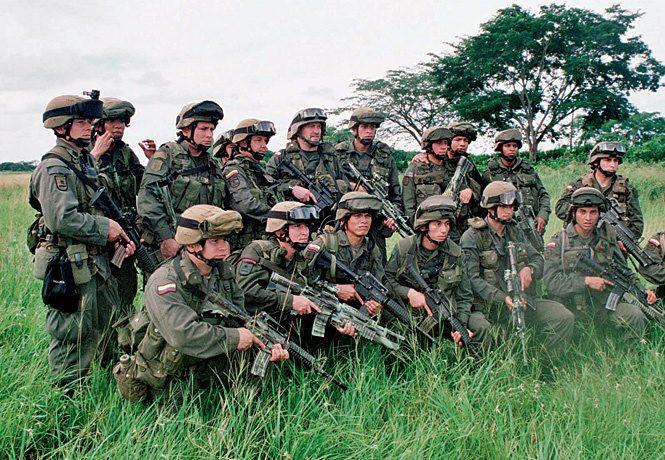 Junglas - спецназ Колумбии