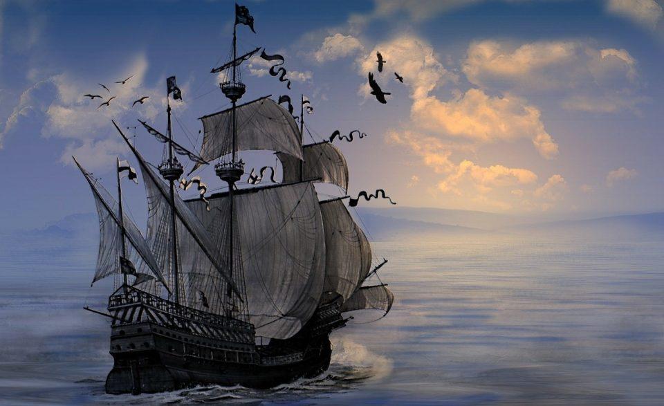 Калеуче корабль призрак