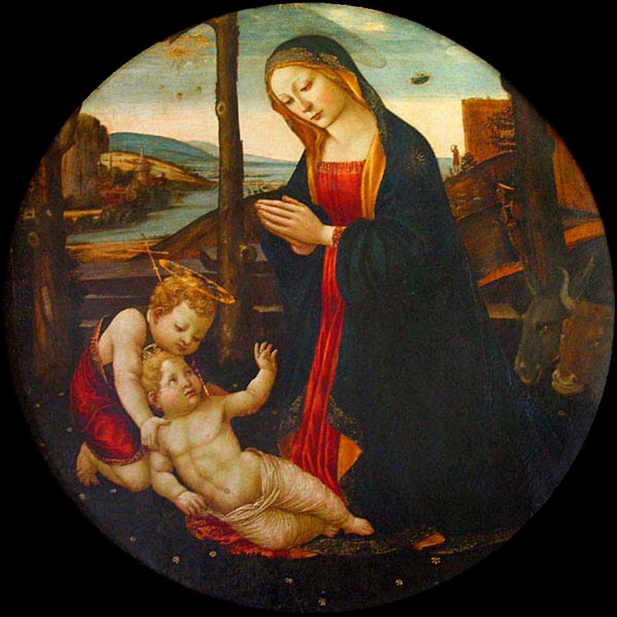 Мадонна со святым Джованнино