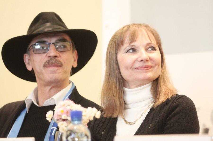 Михаил Боярский с женой