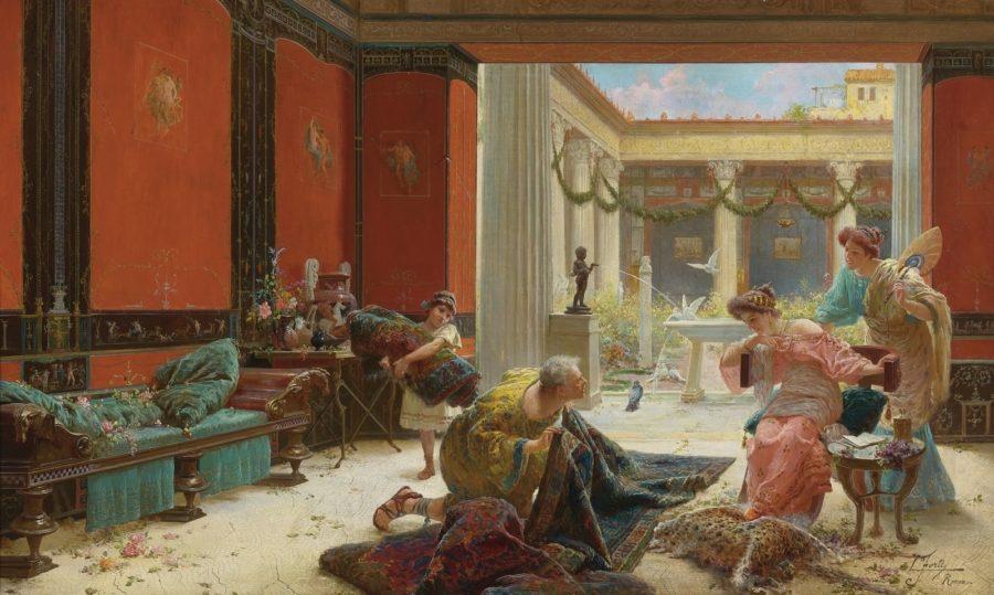 древнеримский торговец
