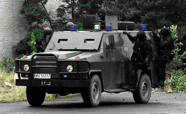 Zarzad Operacji Antyterrorystycznych - польский спецназ