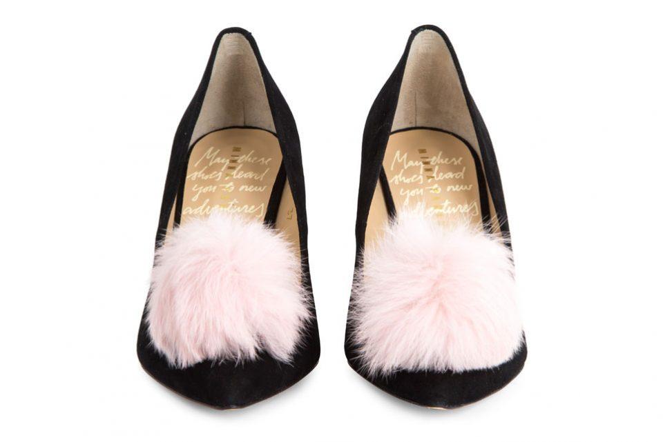 аксессуары. Обувь с помпонами от Minna Parikka