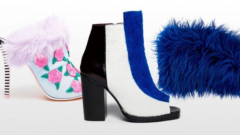 аксессуары. Обувь с цветными аксессуарами