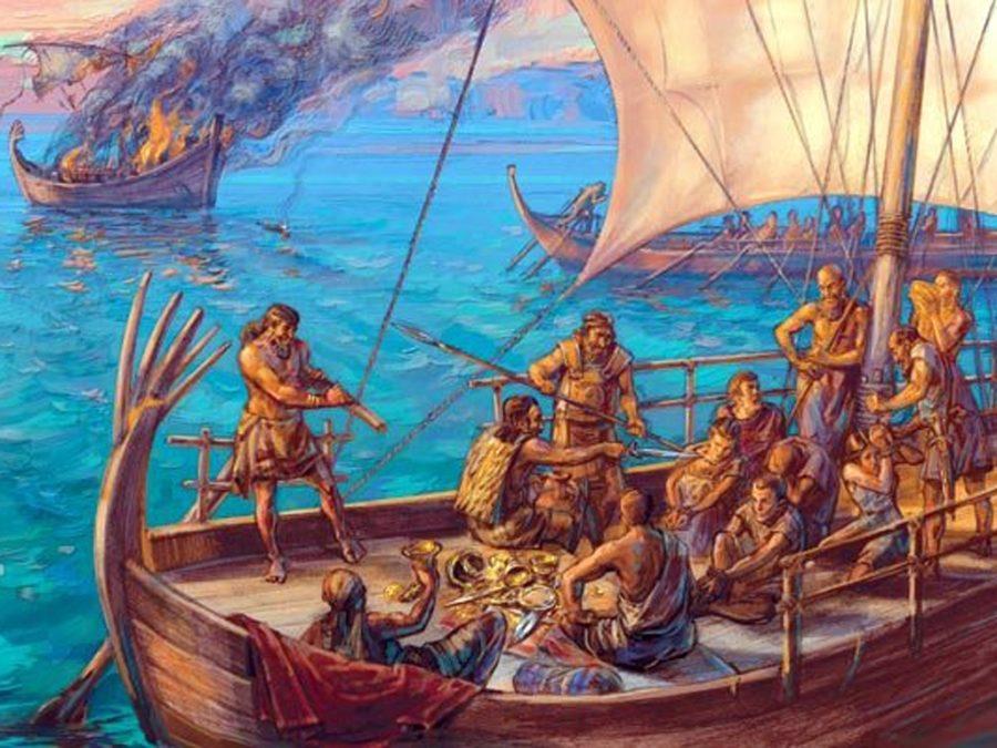 пираты древности