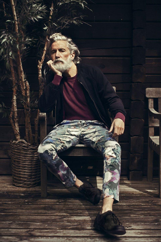 дедушка модный