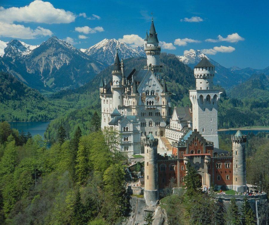 дисней. замок Нойшванштайн, Германия