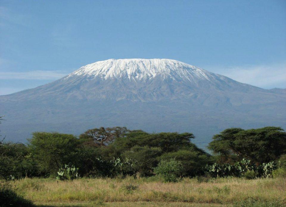 Килиманджаро, Африка