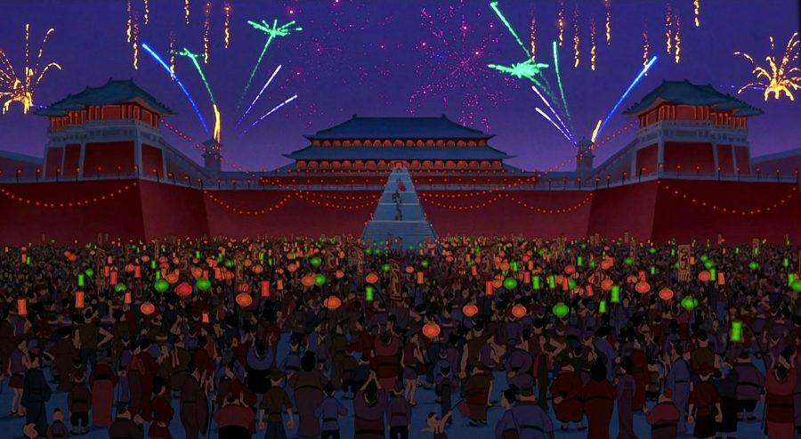 дисней..дворец императора