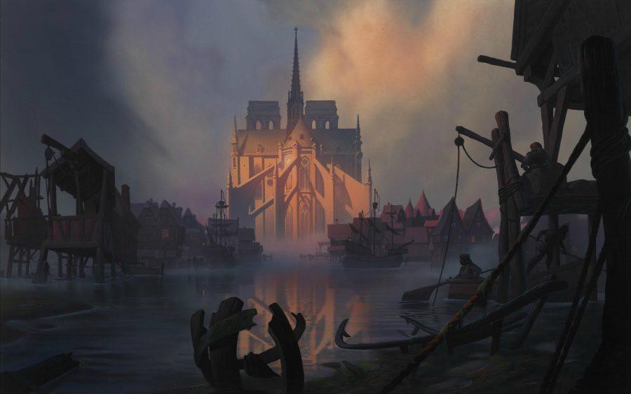 дисней. собор Парижской Богоматери