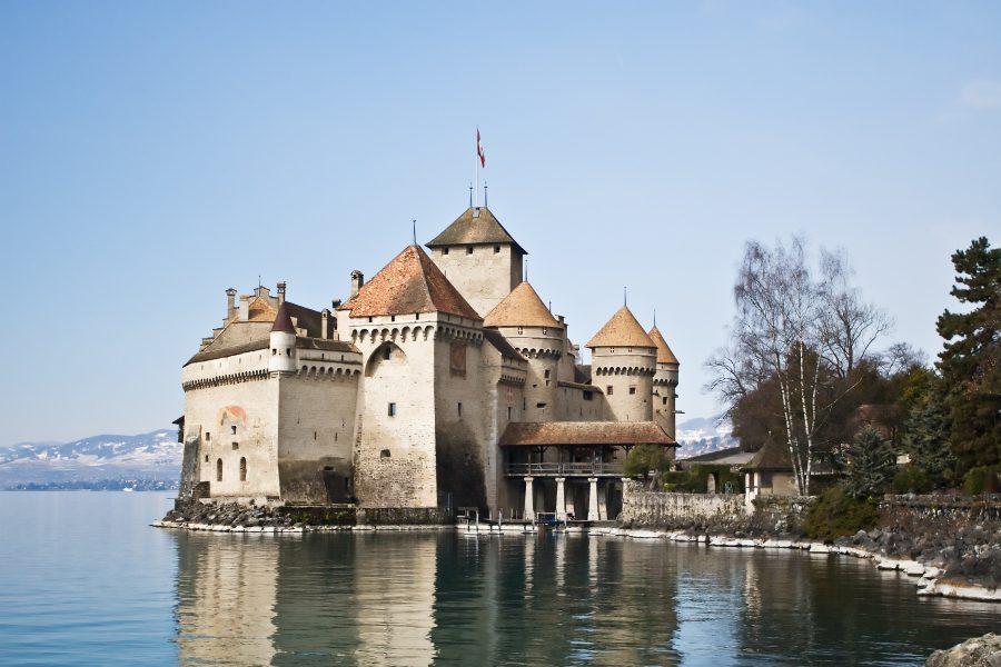 дисней.замок Шильон, Швейцария