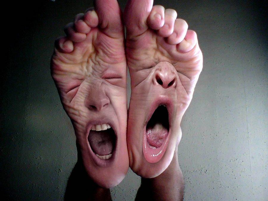 уставшие ноги