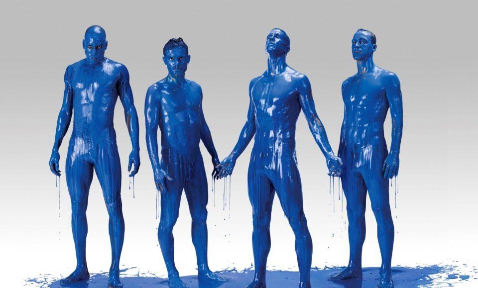 голубая кровь, краска