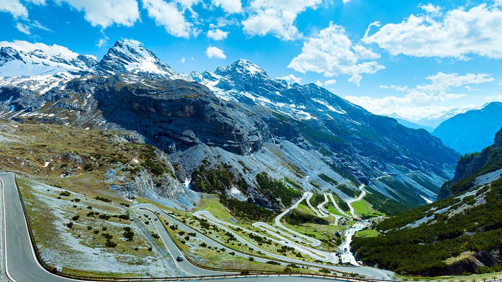 Перевал Стельвио, Италия