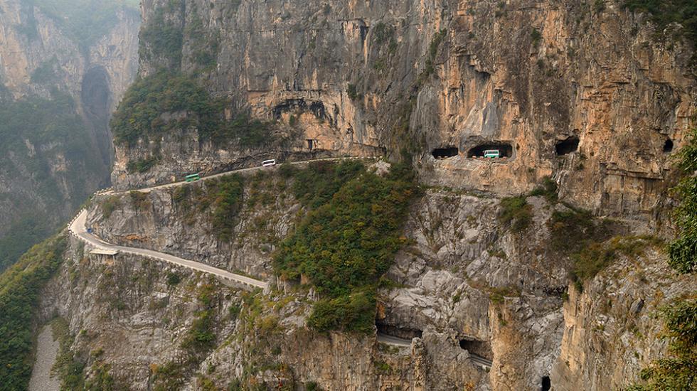 Туннель Голиань, Китай