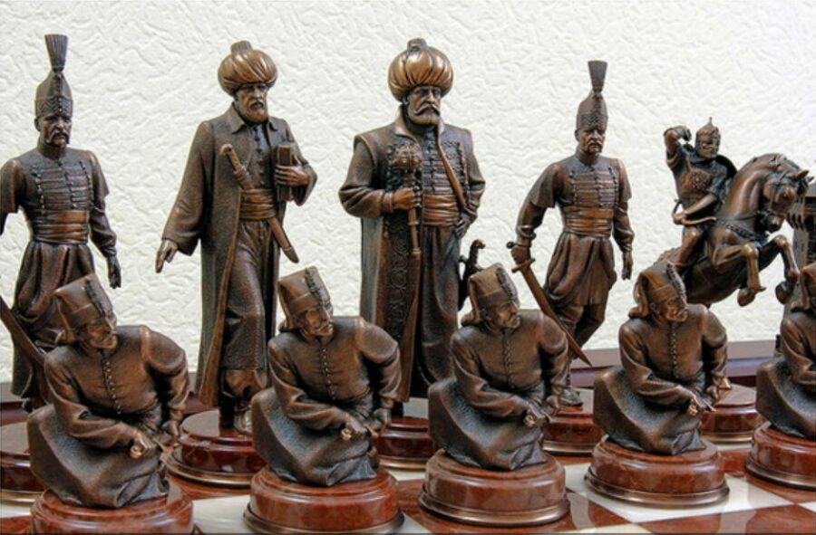 изобретения арабов Шахматы