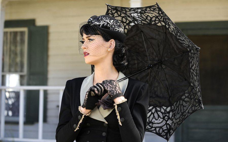 леди с зонтом