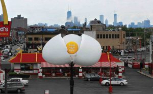 билборд свежие яйца