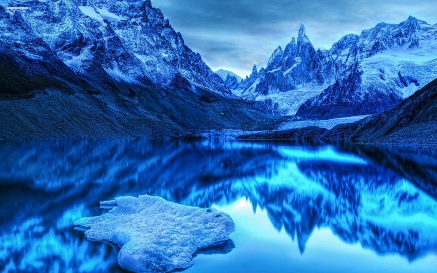 синяя гора