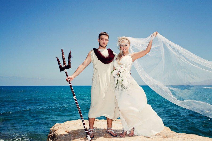морская тематика свадьба