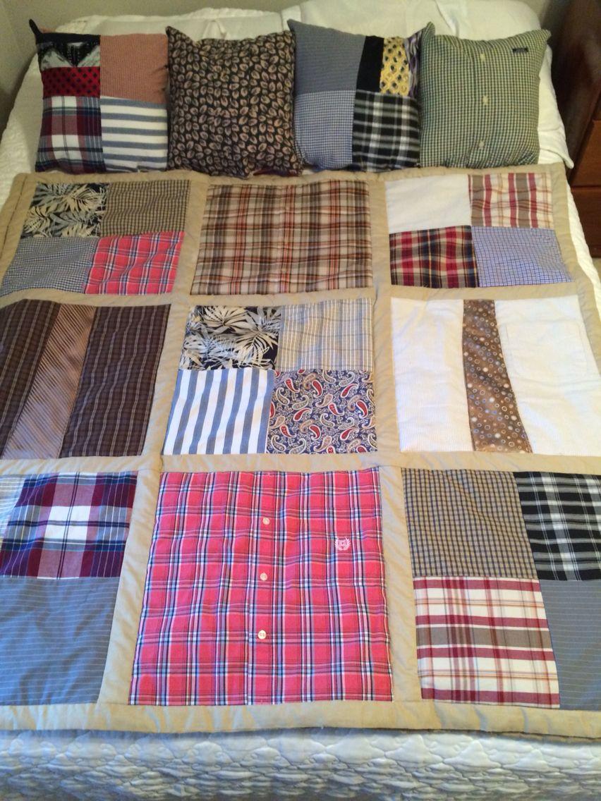 одеяло из одежды