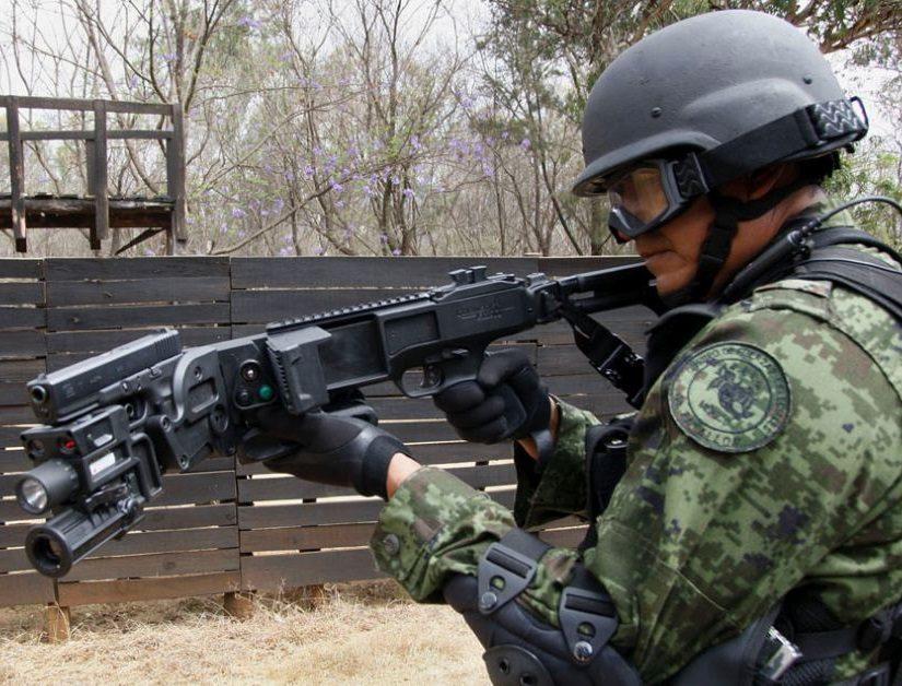 оружие мексиканского спецназа