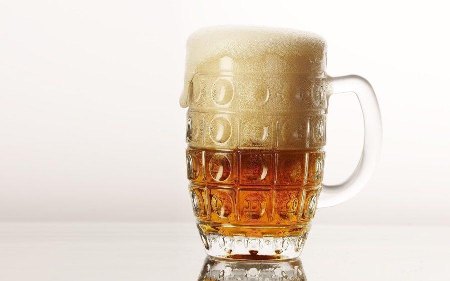 пиво с пенкой