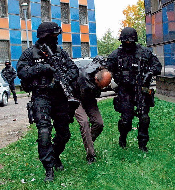 польский спецназ в действии
