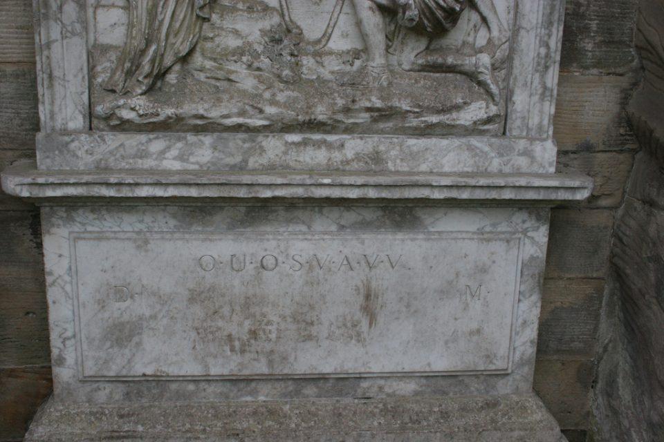 послания из прошлого. Шифровка из Шаборо. Пастуший Монумент с непонятными буквами